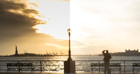 Edited (via Lightroom) vs Unedited