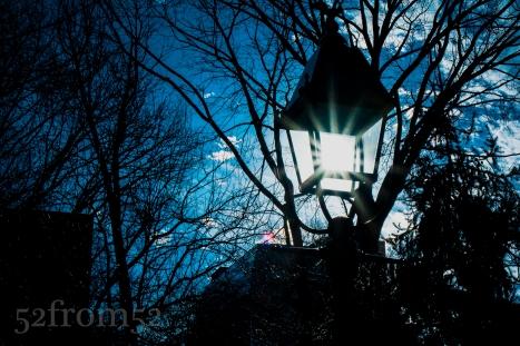 Washington Square Park Light Post
